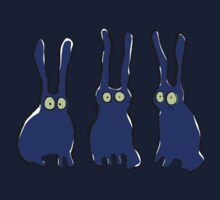 3 bunnies by greendeer