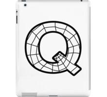 Spiderman Q letter iPad Case/Skin