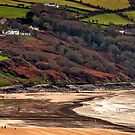 Aberporth Bay by mlphoto