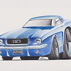 1964 Ford Mustang by Glens Graphix by GlensGraphix