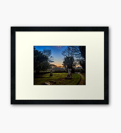 Capel Colman Sunset Framed Print