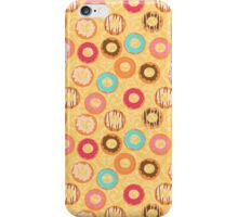 Cute donuts with colorful glazing iPhone Case/Skin