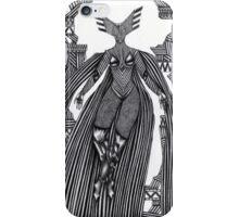 Woman in a strange costume I iPhone Case/Skin
