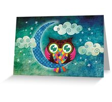 My Crescent Owl Greeting Card