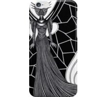 Woman in a strange costume II iPhone Case/Skin