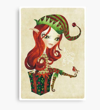 Elfie Elf Canvas Print