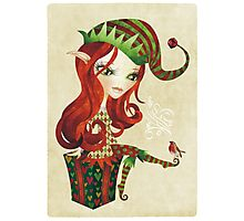 Elfie Elf Photographic Print