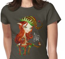Elfie Elf Womens Fitted T-Shirt