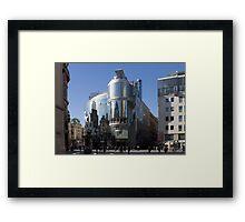 Haas House, Vienna Austria Framed Print
