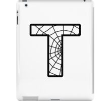 Spiderman T letter iPad Case/Skin