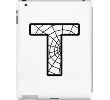 Spiderman T letter iPad Case/Skin