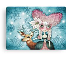 Noelle's Winter Magic Canvas Print