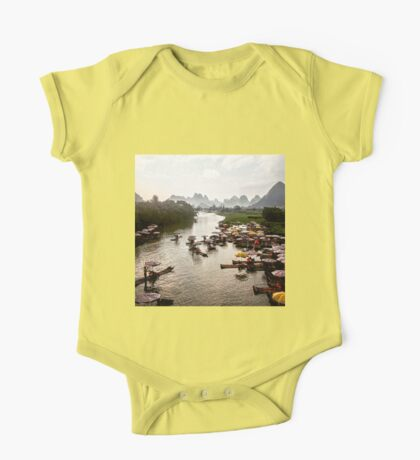 River Cruise Among the Mountains One Piece - Short Sleeve