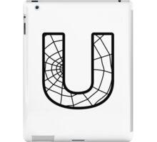Spiderman U letter iPad Case/Skin
