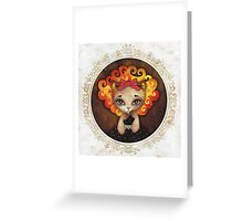 Cowardly Lioness Greeting Card