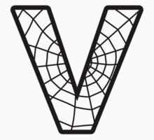 Spiderman V letter T-Shirt