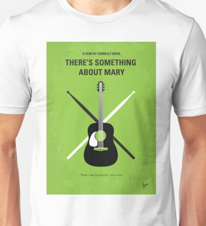 No286 My There's Something About Mary minimal movie poster Unisex T-Shirt