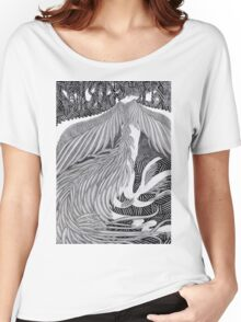 Girl dressed as a bird II Women's Relaxed Fit T-Shirt