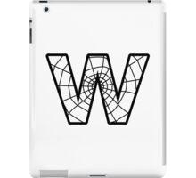 Spiderman W letter iPad Case/Skin