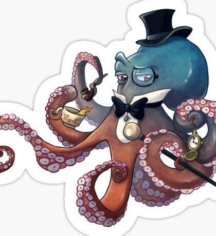 Sir Octopus Von Krake Sticker