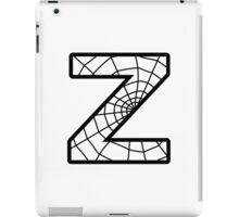 Spiderman Z letter iPad Case/Skin