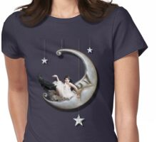 Paper Moon Womens Fitted T-Shirt