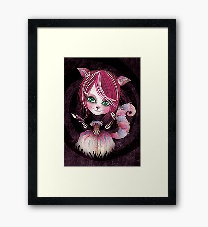 Cheshire Kitty Framed Print