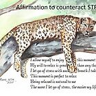 Affirmation to counteract STRESS by Maree  Clarkson