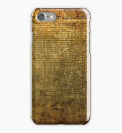 Declaration Of Indipendence iPhone Case/Skin