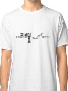 Lot to Learn Lyrics - Black Classic T-Shirt