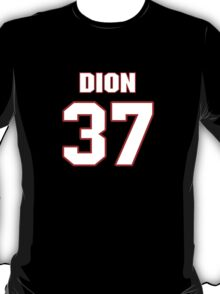 NFL Player Dion Bailey thirtyseven 37 T-Shirt