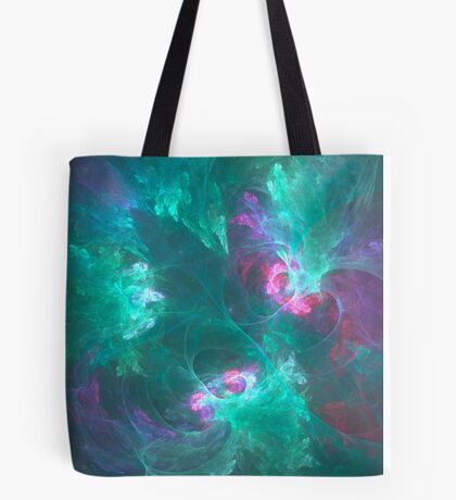 Abstract fractal in a cold palette Tote Bag
