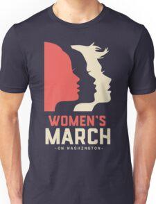 Woman's March Washington Unisex T-Shirt