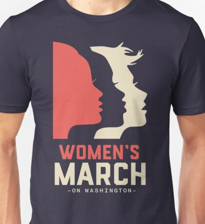 Woman's March Washington Unisex T-Shirt