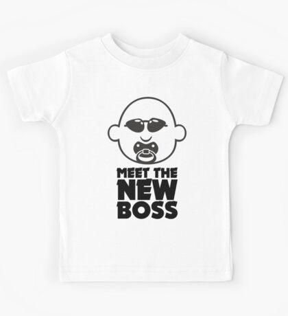 Meet The New Boss VRS2 Kids Tee