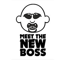 Meet The New Boss VRS2 Photographic Print
