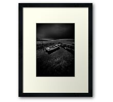 On the wrong side of the lake 7 Framed Print