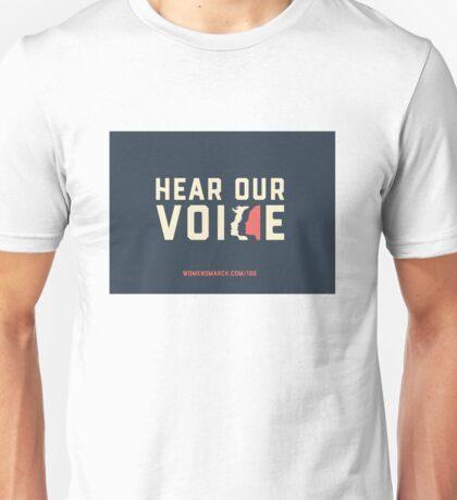 Hear Our Voice Unisex T-Shirt