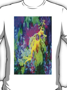 seahorse coral reef animal abstract T-Shirt