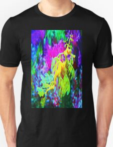 seahorse coral reef animal abstract Unisex T-Shirt