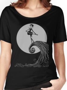 Robert Skellington - Silver Gray Women's Relaxed Fit T-Shirt