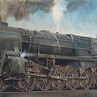 A 9F on shed. by Mike Jeffries