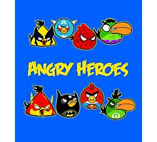 angry heroes Photographic Print