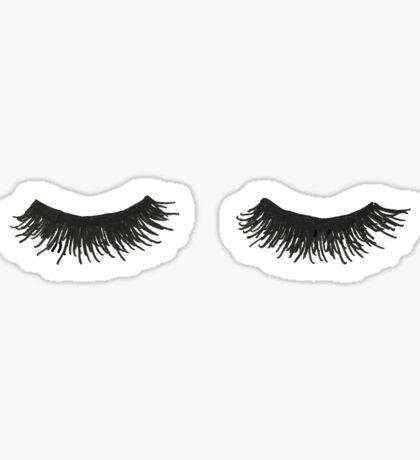 Eyelashes Sticker