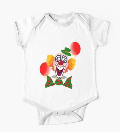 Clown One Piece - Short Sleeve