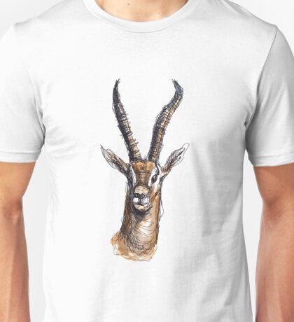 Wire Gazelle (Colour) Unisex T-Shirt