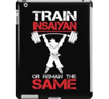 Train Insaiyan Remain Same iPad Case/Skin