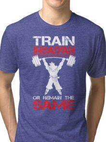 Train Insaiyan Remain Same Tri-blend T-Shirt