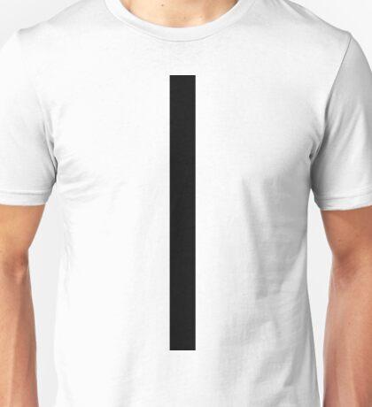 Black Zip Unisex T-Shirt