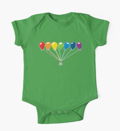 What color is your balloon?  One Piece - Short Sleeve